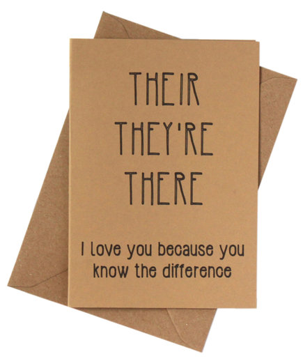 17 creative valentines day card ideas real simple funny grammar card m4hsunfo