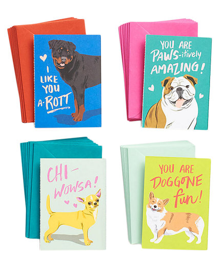 Doggone Fun Valentine Cards