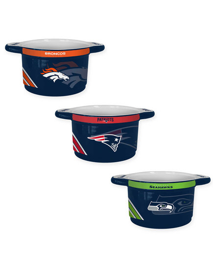 NFL Sculpted Ceramic Gametime Bowl