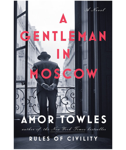 Airplane Books A Gentleman in Moscow, by Amor Towles