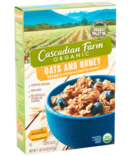 Cascadian Farm Oats and Honey