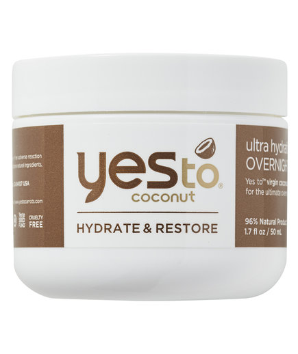 Yes To Coconut Ultra Hydrating Overnight Crème Mask