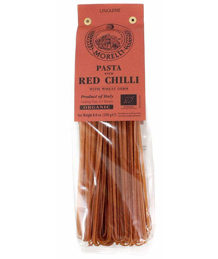Morelli Organic Linguine With Peperoncino Hot Peppers