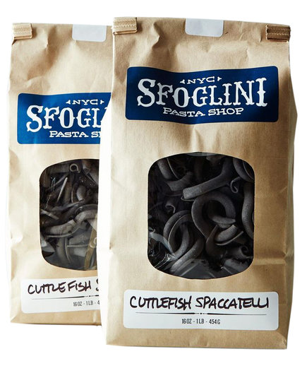 Sfoglini Special Edition Cuttlefish Ink Spaccatelli