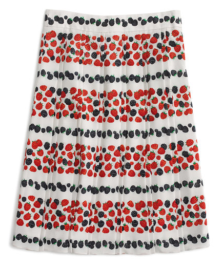 berry-print-skirt