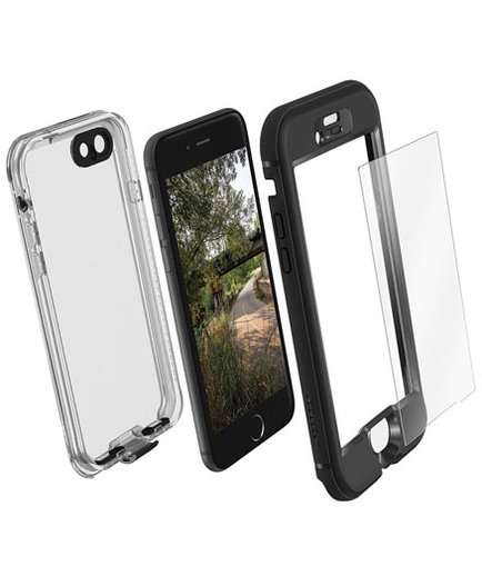 Lifeproof Nuud + Alpha Glass iPhone 7 Case