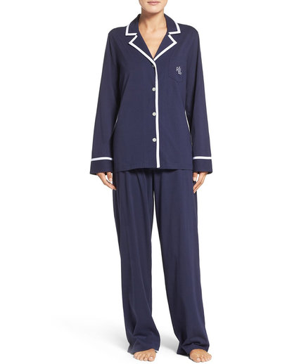 Cotton Knit Pajamas
