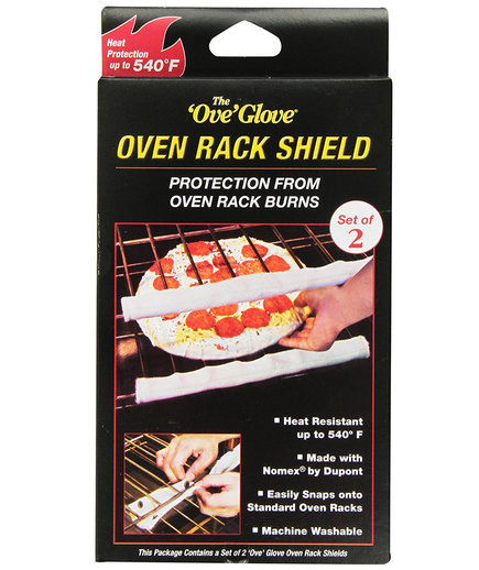 Oven Rack Protector Shields