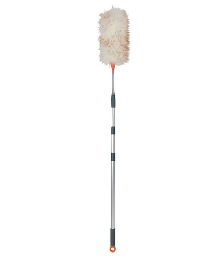 Wool Duster With Extendable Pole