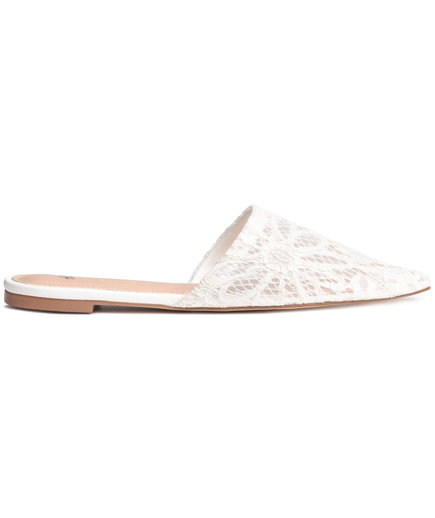 H&M Lace Slip-Ons