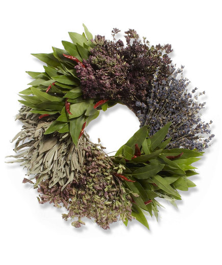 Mixed Herbs Wreath