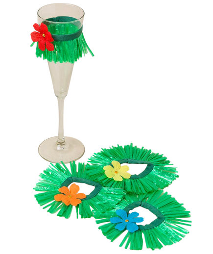 Grass Skirt Wine Tutu