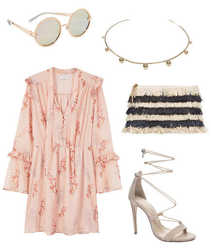 Graduation outfit with breezy dress