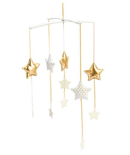 Baby Nursery Star Crib Mobile