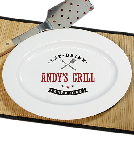 Personalized Barbecue Platter