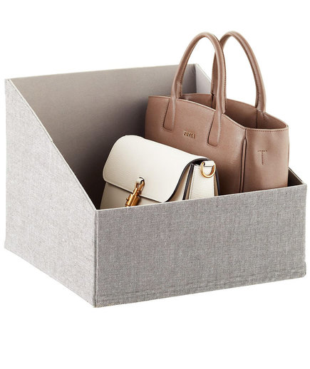 Grey Purse Bin