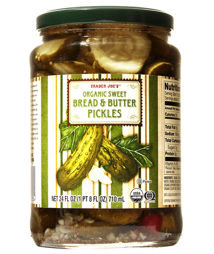 Trader Joe's Organic Sweet Bread & Butter Pickles