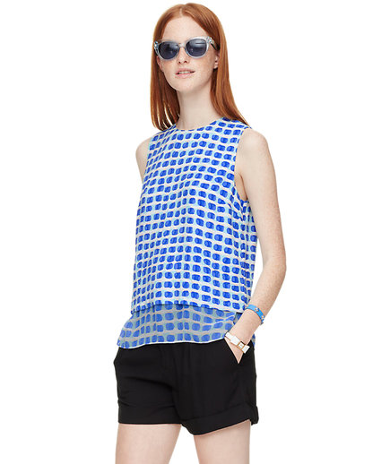 Island Stamp Double Layer Tank