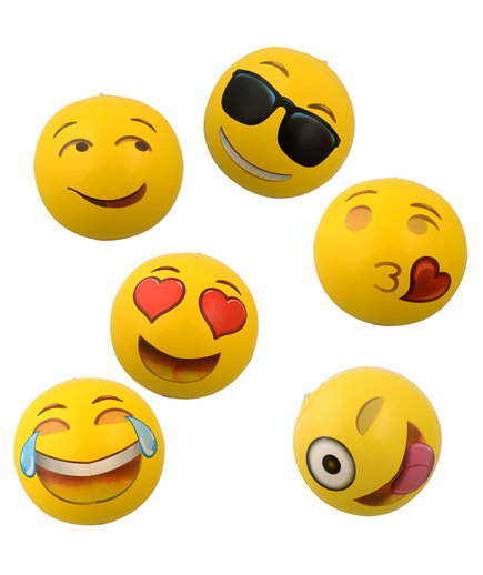Emoji Inflatable Beach Balls