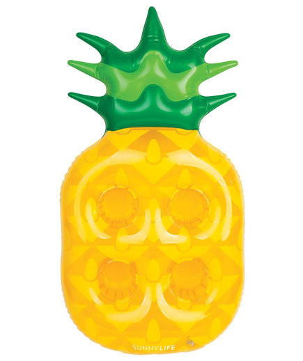 Inflatable Pineapple Drink Holder Pool Float