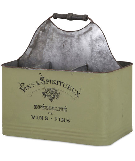 IMAX Worldwide Vineyard Wine Caddy