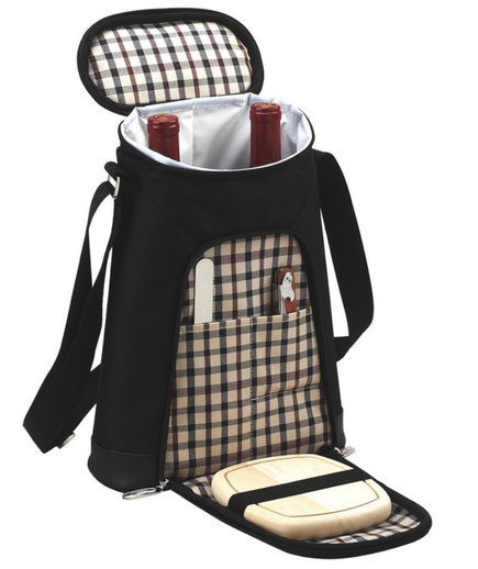 Picnic at Ascot London Double Wine Bottle Picnic Tote