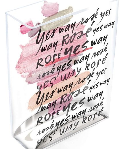 Yes Way Rosé Glass Vase