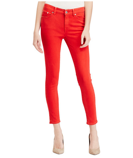 Lauren Ralph Lauren Coated Jeans