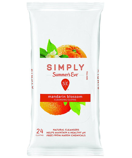 Simply Summer's Eve Cleansing Cloths in Mandarin Blossom