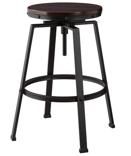 Lewiston Adjustable Swivel Barstool