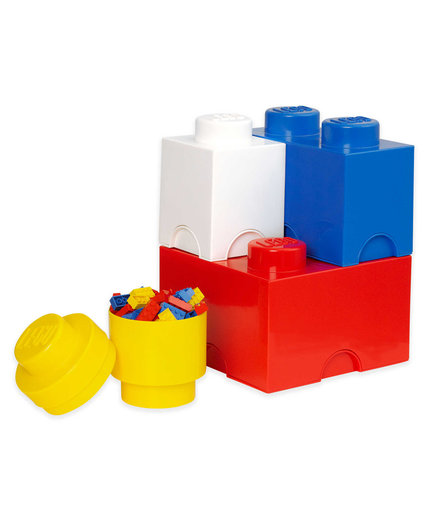 Lego 4-Piece Storage Brick Set