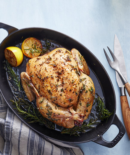 Slow-Roasted Lemon Herb Chicken Keto