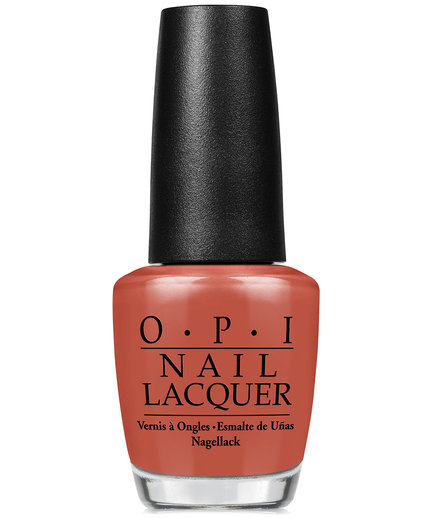 Brick Orange: OPI Nail Lacquer in Yank My Doodle
