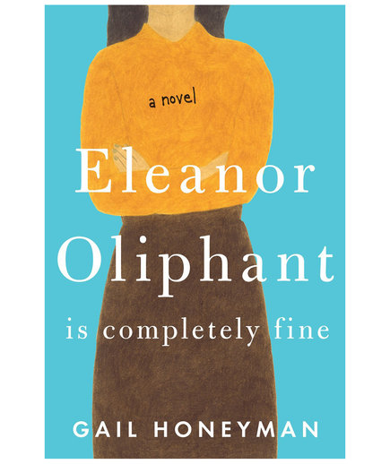 Airplane Books Eleanor Oliphant Is Completely Fine, by Gail Honeyman