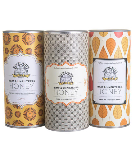 Nature Nate's Honey Tins
