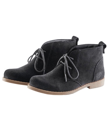 Cold Water Creek Journey Suede Ankle Boots