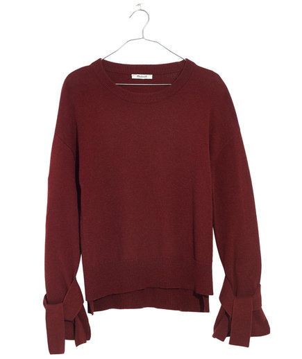 Madewell Cotton-Blend Sweater