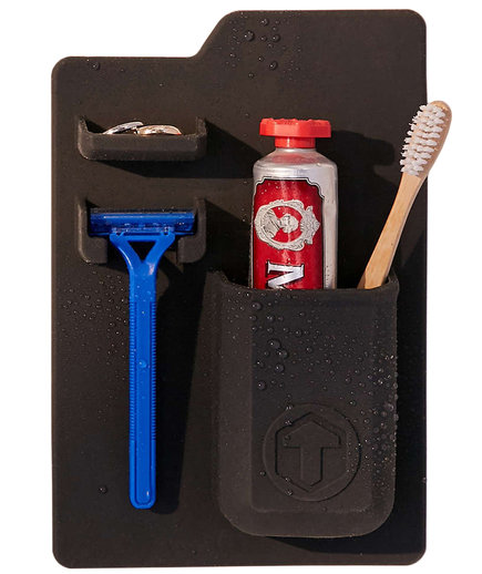 Tooletries Mighty Toothbrush + Razor Holder