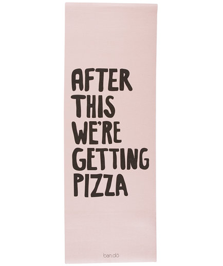Pizza Exercise Mat