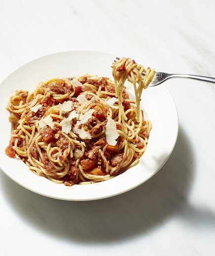 Turkey Bolognese (Thanksgiving Leftovers Around the World)