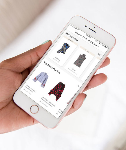 Rent the Runway App