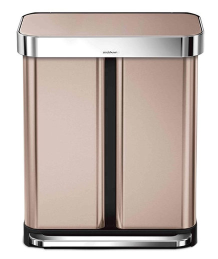 SimpleHuman Dual Compartment Step Can