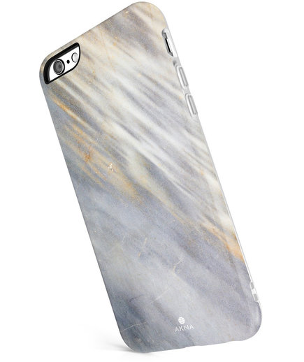 iPhone 6plus Gold Stone Marble Case