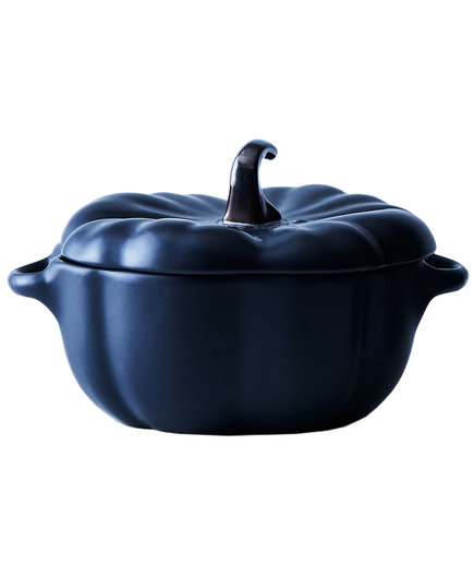 Staub Black Ceramic Mini Pumpkins