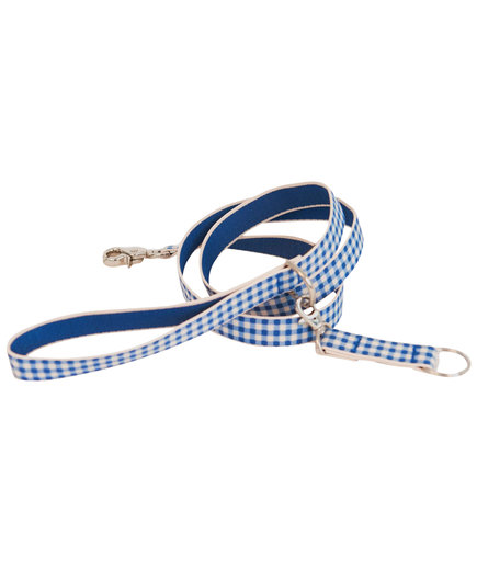 Harry Barker Gingham Leash