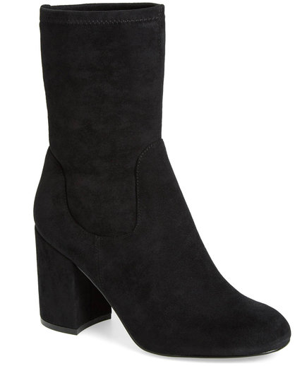 Jacy Stretch Sock Bootie
