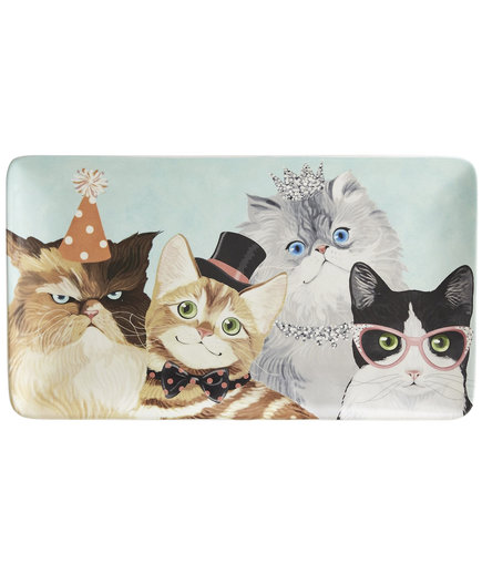 Party Cats Serving Platter