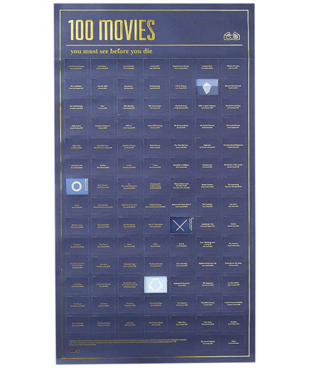 DOIY Poster - 100 Movies You Must See Before You Die