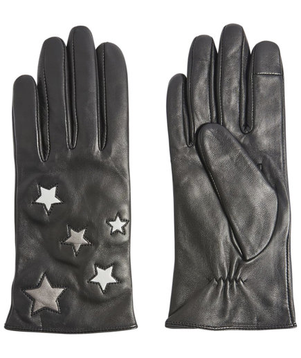 Metallic Star Gloves
