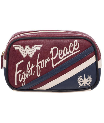 Wonder Woman Movie Fight for Peace Cosmetic Bag